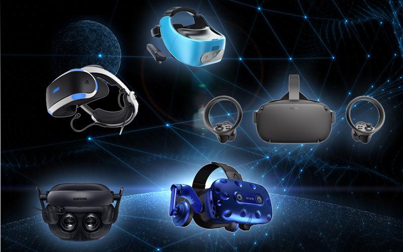 진화하는 VR 기술 주목받는 대표 VR기기