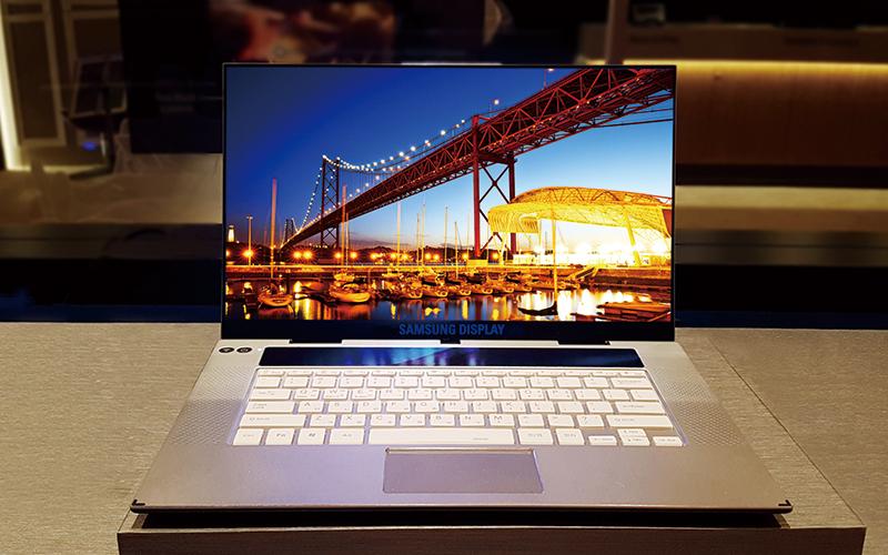 삼성 OLED, 프리미엄 노트북 시장 출사표