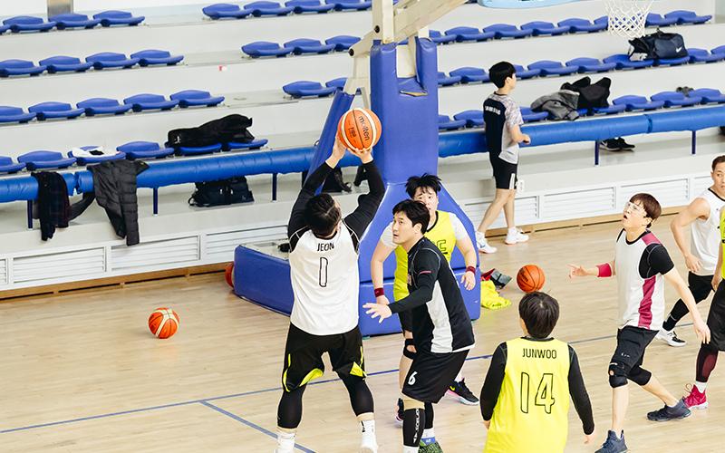 우리만의 즐거운 승부! 삼성디스플레이 농구 동호회 'ABC'