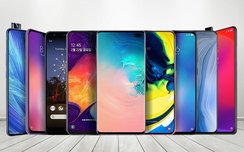 2019년 상반기를 주도한 OLED 스마트폰 결산!
