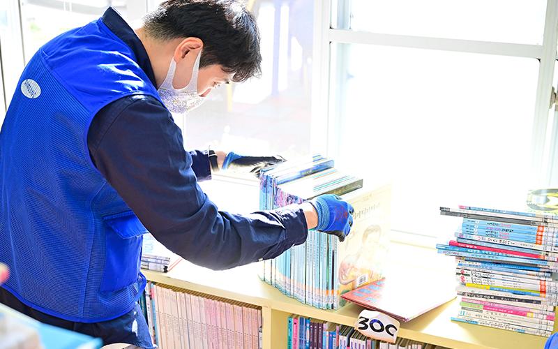 아이들에게 더 나은 독서환경을 만들어주는 '북적북적 봉사활동'