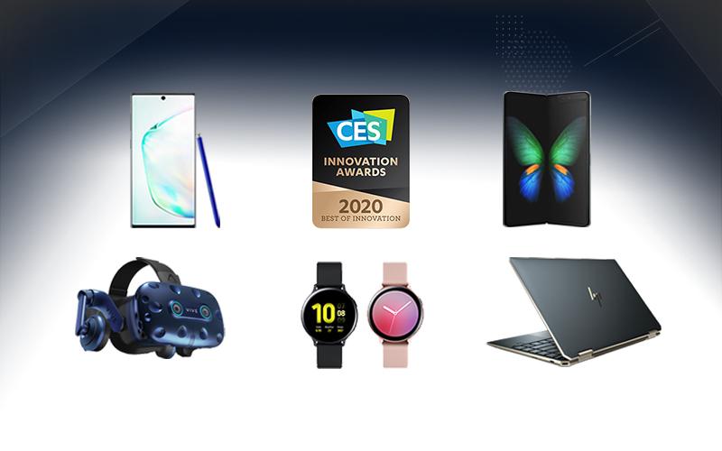 기술,혁신,디자인 분야의 최고 IT 제품들이 모였다. OLED가 탑재된 'CES 2020' 혁신상 제품들은?