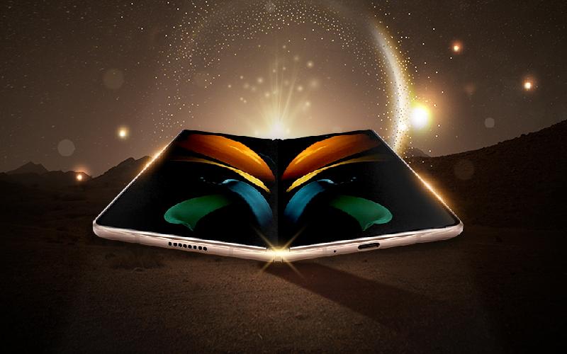 더 커진 화면을 유연하게 펼치다! 폴더블 디스플레이, 또 한 번의 혁신! '갤럭시 Z 폴드2'